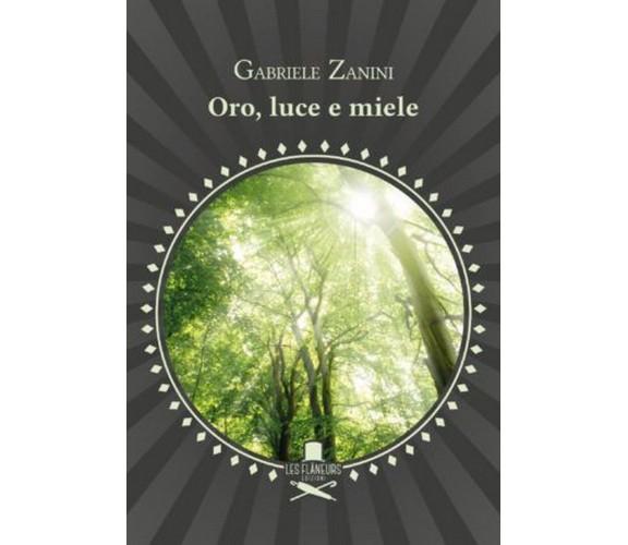 Oro, luce e miele di Gabriele Zanini ,  Les Flaneurs