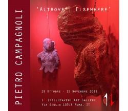 PIETRO CAMPAGNOLI Altrove | Elsewhere di Stefania Minutaglio (a Cura Di),  2019