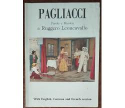 Pagliacci - Ruggero Leoncavallo - Arti Grafiche - A