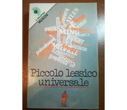 Piccolo lessico universale - AA.VV. - Vallecchi - 1976 - M