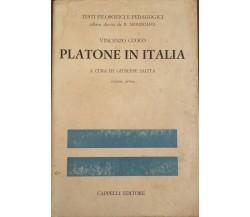 Platone in Italia - Vincenzo Cuoco,  2006 - Cappelli Editore  - C