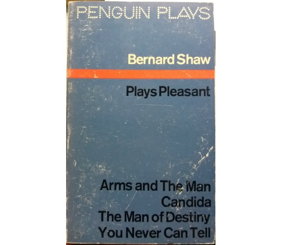 Plays Pleasant - Bernard Shaw - Penguin Books - 1968 - G