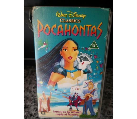 Pocahontas - vhs - Walt Disney -F
