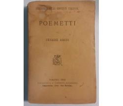 Poemetti - Cesare Arici - Tipografia e Libreria Salesiana - 1882 - G