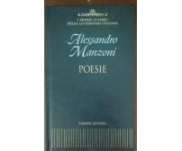 Poesie - Alessandro Manzoni - Fabbri, 2003 - A