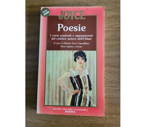 Poesie - J. Joyce - Newton - 1991 - AR