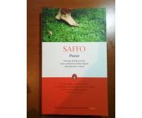 Poesie - Saffo - Newton - 2010  - M