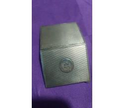 Porta biglietti da visita in argento 925 vintage, 5,5x9,5