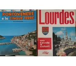Portovenere e le cinque terre + Lourdes (120 tavole a colori) - ER