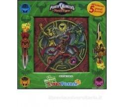 Power rangers  - Libro puzzle , 2007 - C