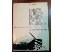 Principi di diritto economia politica e sociologia - N. M. Finzi -U.E.T-1975 - M
