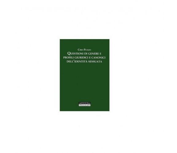 Questioni di genere e profili giuridici e canonici dell'identità sessuata -Punzo