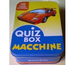 Quiz box - Macchine - 100 domande e risposte per conoscere - Giunti Junior - L