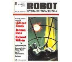 ROBOT rivista di fantascienza - Anno 2 numero 21