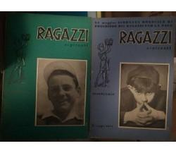 Ragazzi aspiranti (2 copie) - 1954