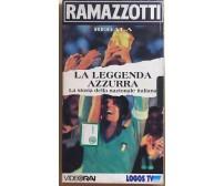 Ramazzotti regala La leggenda azzurra VHS di Logos Tv,  1995,  Videorai