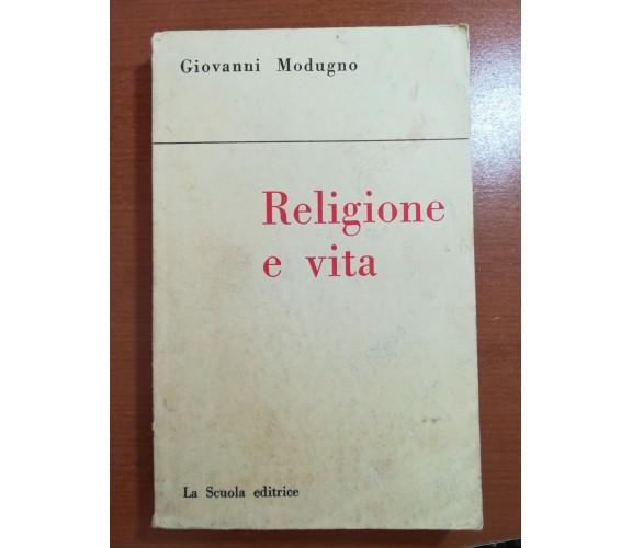 Religione e vita - Giovanni modugno - La scuola - 1957 - M