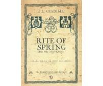 Rite of Spring, the 8th Movement di J. L. Giadima,  2016,  Youcanprint