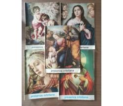 Rivista Presenza cristiana 5 volumi - AA. VV. - 1985 - AR
