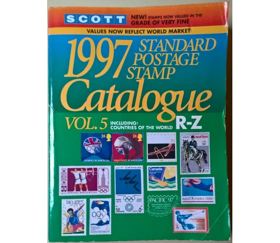 SCOTT Standard postage stamp catalogue 1997 Vol.5 countries of the world R-Z - L