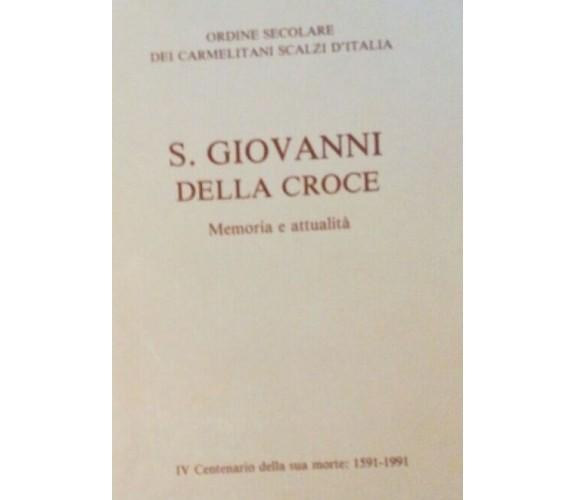 S.Giovanni della croce - Aa.vv. - 1990 - Suore Rosminiane - lo