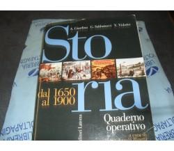 STORIA DAL 1650 AL 1900 - A.GIARDINA G.SABBATUCCI - LATERZA SCUOLA