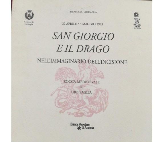 San Giorgio e il drago - Pro Loco Urbisaglia - 1995 - Banca Popolare Di Ancona