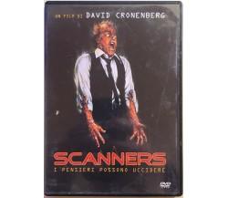 Scanners, i pensieri possono uccidere DVD di David Cronenberg, 2004