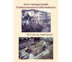 Scavi e tipologie fondali Predimensionamento delle fondazioni, Angelo Spizuoco
