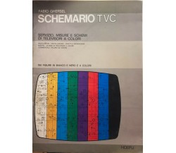 Schemario TVC di Fabio Ghersel, 1980, Hoepli