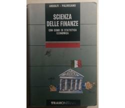 Scienza delle finanze di Ardolfi-palmisano,  1991,  Tramontana