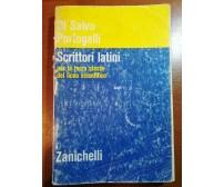 Scrittori latini - Di salvo,Portogalli - Zanichelli - 1973- M
