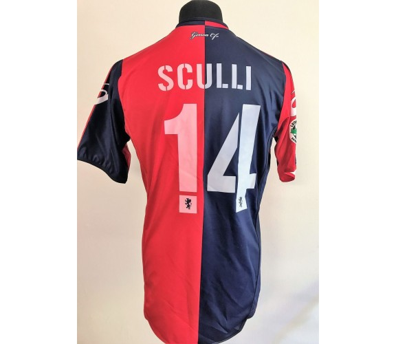 Sculli Genoa. Maglia preparata match issued 2008-2009