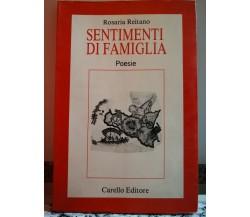 Sentimenti di Famiglia di Rosaria Reitano,di Rosaria Reitano,1991,Carello-F