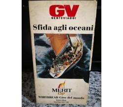 Sfida agli oceani - vhs-  Merit cup -1990 - F