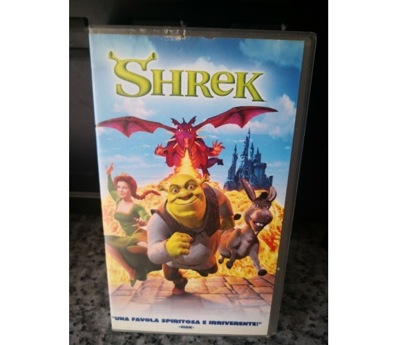 Shrek - vhs - 2001 - Univideo -F