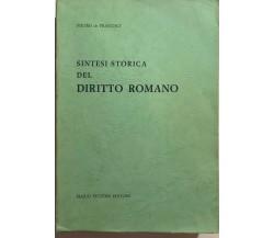 Sintesi storica del diritto romano di Pietro De Francisci, 1968, Mario Bulzoni E