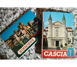 Sirmione & Cascia 12 e 20 Vedute in fotocolor di A.a.v.v, Fantoni & Rivetta -F