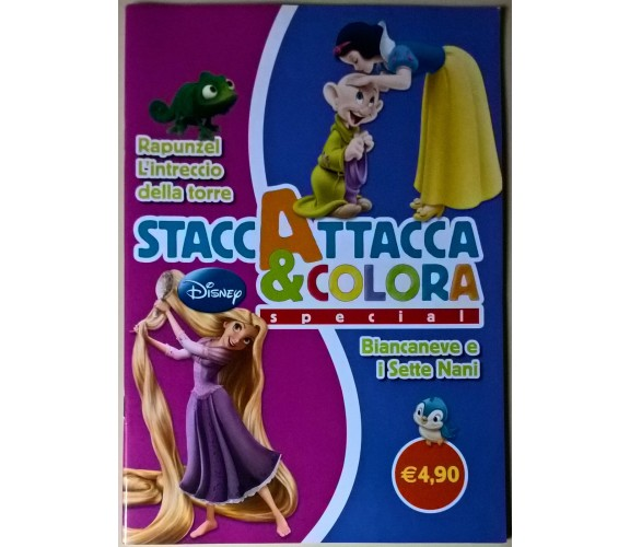 StaccaAttacca & Colora special: Rapunzel/Biancaneve - Disney, 2012 - L