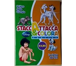 StaccaAttacca&Colora special Il libro della Giungla/La Carica dei 101 -Disney -L
