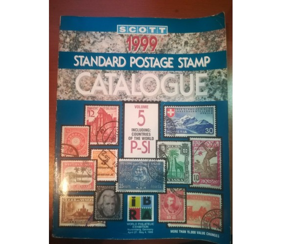 Standard postage stamp catalogue - AA.VV- Scott - 1999 - M