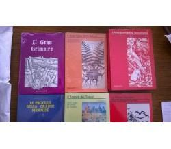 Stock 5 rari libri esoterici - Brancato editore, 1991