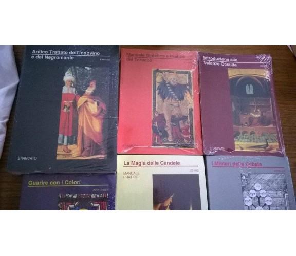 Stock 6 rari libri esoterici Antico Trattato dell'Indovino Scienze Occulte