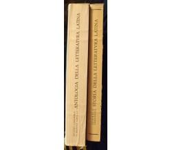 Storia-Antologia della letteratura latina -Cazzaniga, Grilli, Signorelli - S