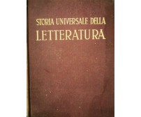 Storia Universale della Letteratura, Giacomo Prampolini,  1949,  Utet - ER