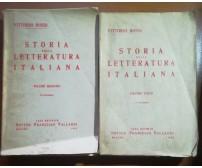 Storia della letteratura italiana Vol.2-3 - V.Rossi - Vallardi - 1943- M