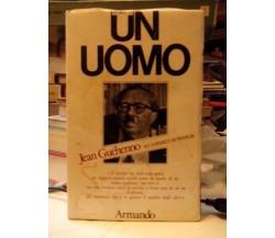 Storia di un Uomo - Guéhenno Jean - Armando editore 1979