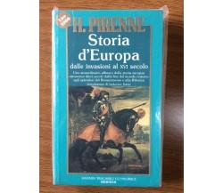 Storie d'europa - H. Pirenne - Newton - 1991 - AR