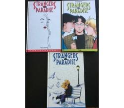 Strangers in Paradise vol. 1-2-8 - Terry Moore,  1998-00,  Macchianera - P