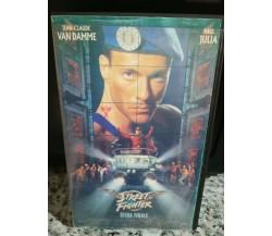 Street Fighter - Sfida finale -  1994- VHS- F